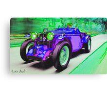 Purple-Car-Justin Beck-picture-2015101 Canvas Print