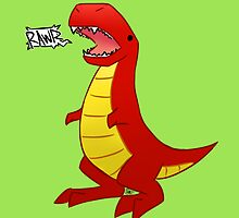 T-Rex? by Grigshaw