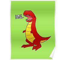 T-Rex? Poster