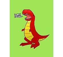 T-Rex? Photographic Print