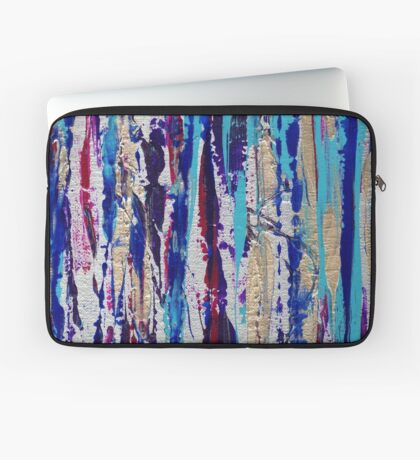 Silver Streak Laptop Sleeve