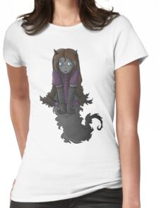 A Shadow Self Portrait Womens Fitted T-Shirt