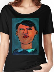 portrait of a young picasso Women's Relaxed Fit T-Shirt