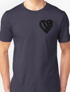 LIFT Heart - Black Unisex T-Shirt