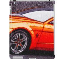 Orange-Car-Justin Beck-picture-2015108 iPad Case/Skin