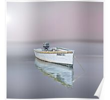 Chatham moored, Cape Cod Poster