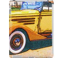 Old-Orange-Car-Justin Beck-picture-2015103 iPad Case/Skin