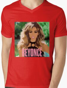 beyonce Mens V-Neck T-Shirt