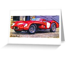Old-Ferrari-Justin Beck-picture-2015105 Greeting Card