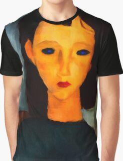 portrait of a woman Graphic T-Shirt