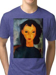 portrait of a woman Tri-blend T-Shirt
