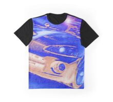 Blue-Neon-Nights-Car-Justin Beck-picture-2015106 Graphic T-Shirt