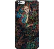 Golden garden iPhone Case/Skin