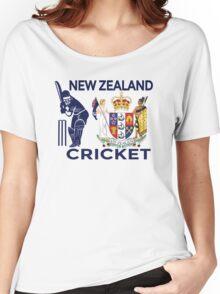 New Zealand Cricket Women's Relaxed Fit T-Shirt
