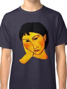 elvira resting at table Classic T-Shirt