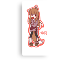 Horo - Spice and Wolf Canvas Print