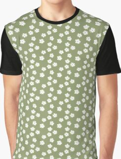 Elderflowers on green Graphic T-Shirt