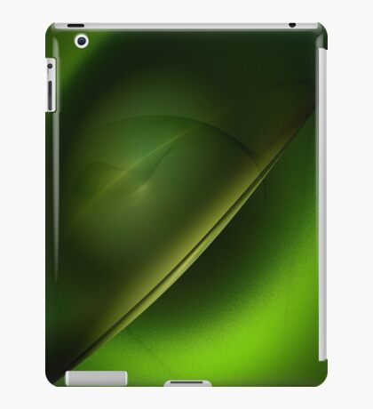 green hat iPad Case/Skin