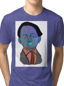 portrait of a mechanic  Tri-blend T-Shirt