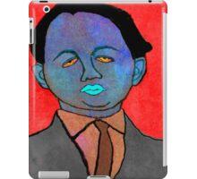 portrait of a mechanic  iPad Case/Skin
