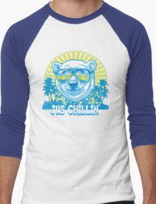 Bear Jus' Chillin' Men's Baseball ¾ T-Shirt