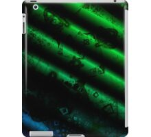 green paper reels iPad Case/Skin