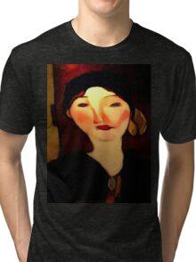 portrait of beatrice hastings Tri-blend T-Shirt