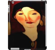 portrait of beatrice hastings iPad Case/Skin