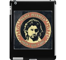 Snake Plissken (doesn't give a shit) Vintage 2 iPad Case/Skin