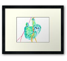 Dream Sloth Framed Print
