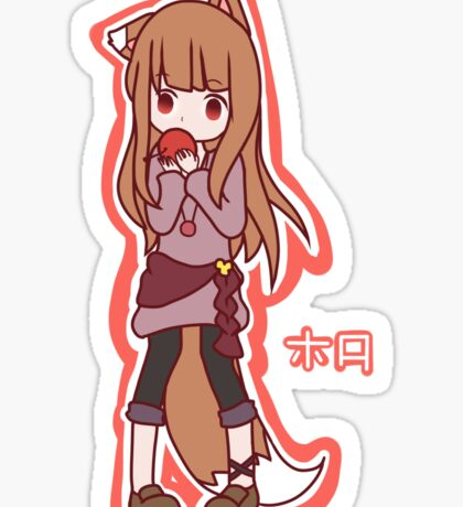 Horo - Spice and Wolf Sticker