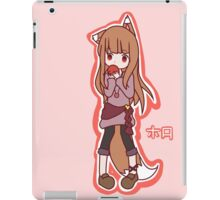 Horo - Spice and Wolf iPad Case/Skin