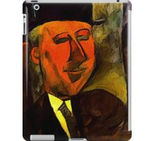 portrait of max jacobs iPad Case/Skin