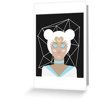 Serenity - Sailor Moon Inspired Portrait Greeting Card