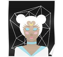 Serenity - Sailor Moon Inspired Portrait Poster