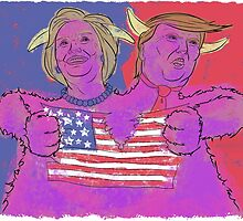 2 Headed Monster (2016 Election) by gavacho13