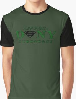 NYC DSNY Strongest Graphic T-Shirt