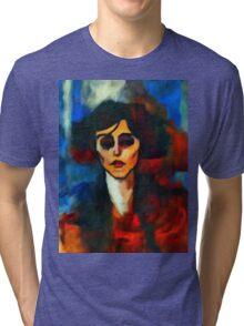 portrait of maude abrantese Tri-blend T-Shirt