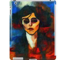 portrait of maude abrantese iPad Case/Skin