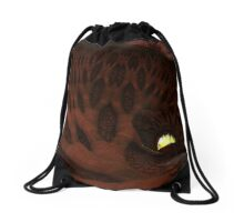 The Enlighted Cave Drawstring Bag