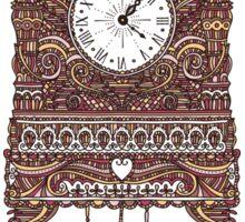 Autumn Cuckoo Clock Sticker