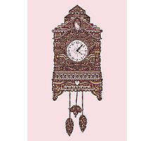 Autumn Cuckoo Clock Photographic Print