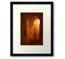 Alhambra Palace, Granada - Spain  Framed Print