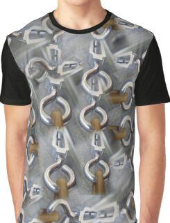 eye hooks Graphic T-Shirt