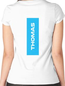 Geraint Thomas White Women's Fitted Scoop T-Shirt