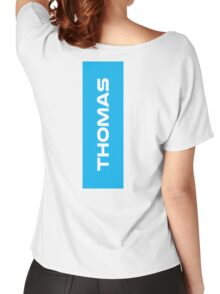 Geraint Thomas White Women's Relaxed Fit T-Shirt