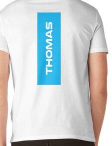 Geraint Thomas White Mens V-Neck T-Shirt