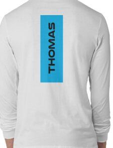 Geraint Thomas Black Long Sleeve T-Shirt