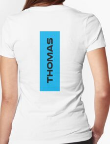 Geraint Thomas Black Womens Fitted T-Shirt