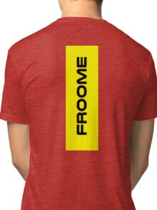 Chris Froome Yellow Tri-blend T-Shirt